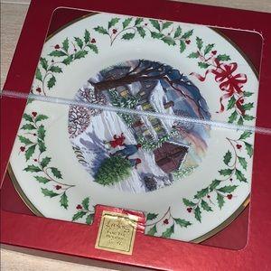 Lenox 2000 Christmas plate